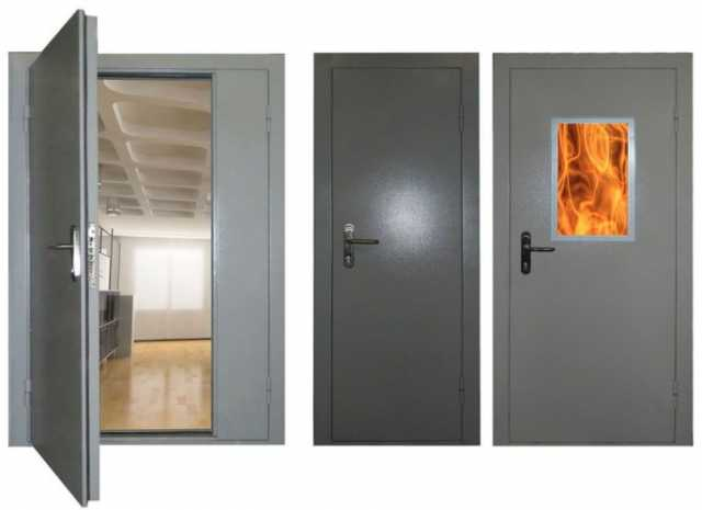 Продам: Двери противопожарные