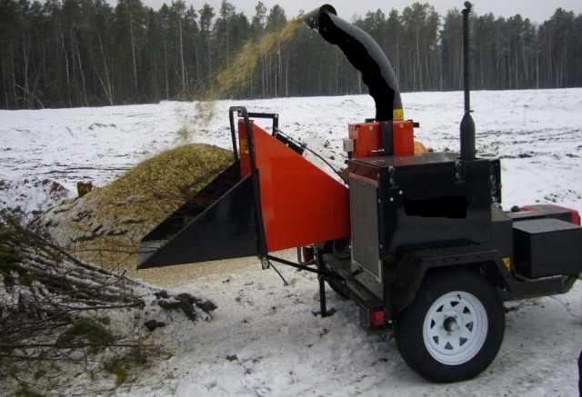 Предложение: Измельчитель веток и деревьев.Утилизация