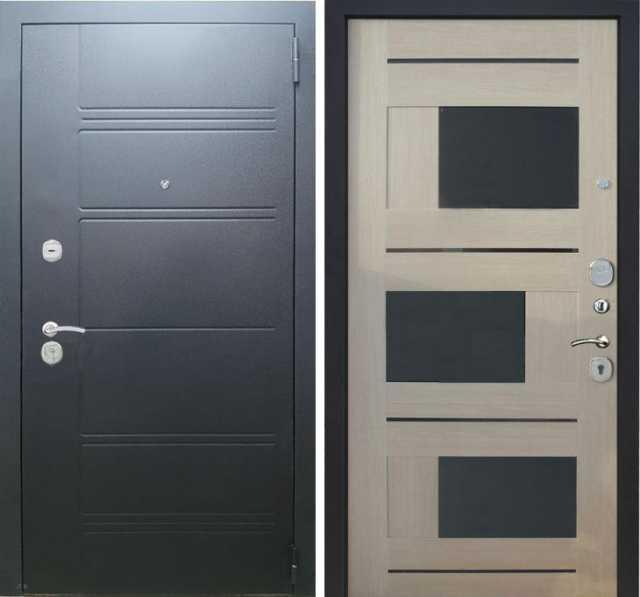 Продам Стальная дверь трио 100 лиственница