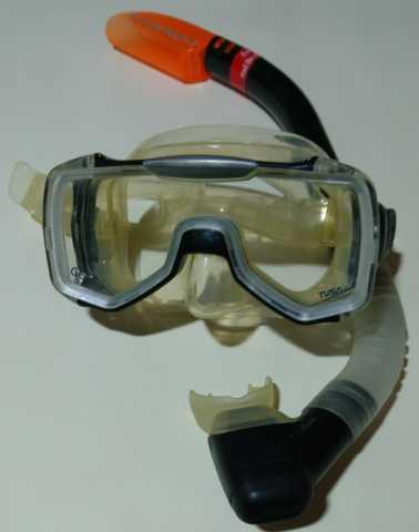 Продам Маска и трубка для подводного плавания