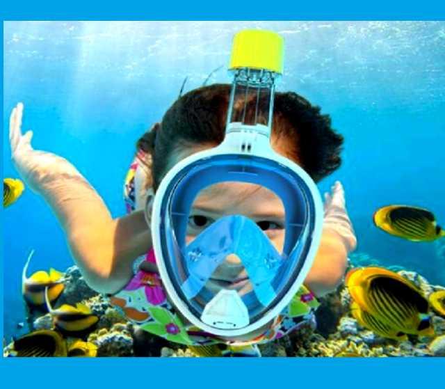 Продам Детская полнолицевая маска для плавания