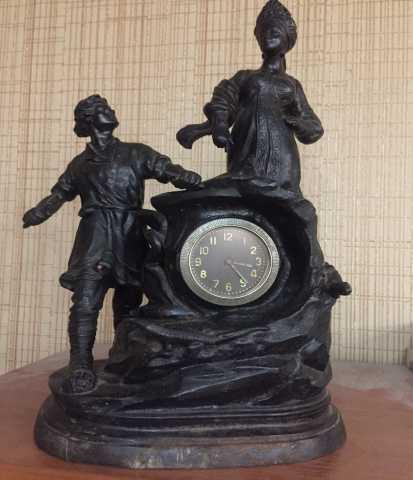 Продам Каминные часы чугунные (Касли)
