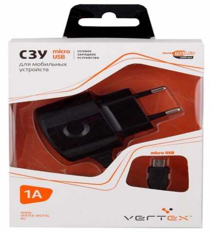 Продам Сетевое зарядное устройство Vertex Slim