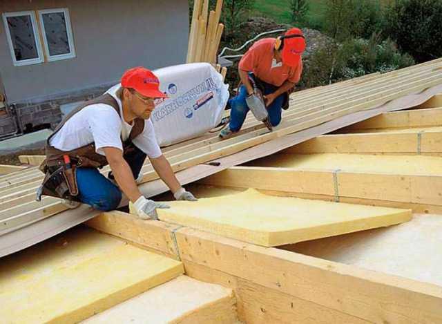 Предложение: Ремонт крыши, замена кровли