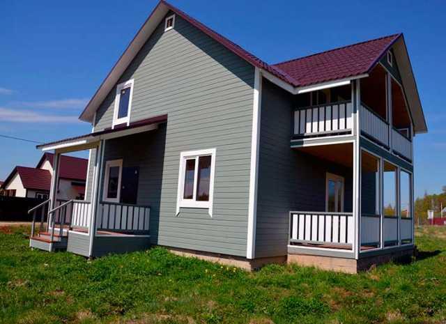 Предложение: Строим жилые каркасные дома эконом класс