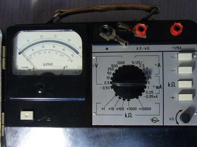 Продам Тестер СССР ц4340 (мультимерт)