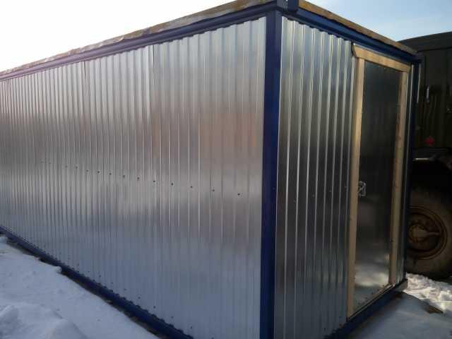 Продам: Металлическая бытовка (блок контейнер)