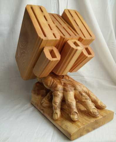 Продам: Подставка для ножей цай дао и кухонных н