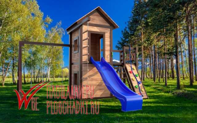 Продам: Деревянные детские площадки