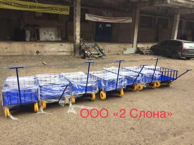 Продам Усиленные бортовые платформенные тележки