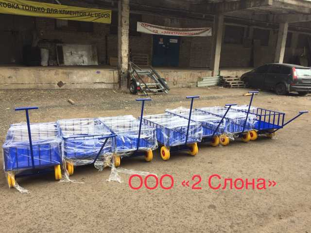 Продам Тележки с поворотно осью в Санкт-Петербу
