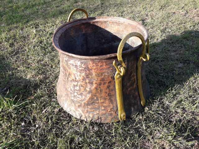 Продам: Антикварный медный чан котел нач.19 века