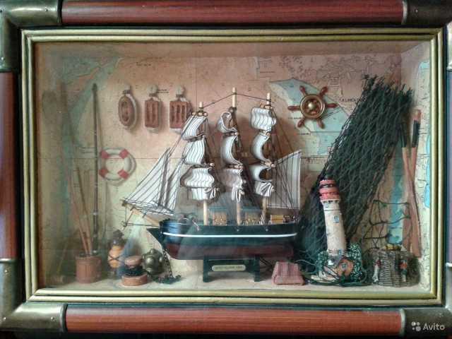 Продам Картина, морской коллаж, настенное панно
