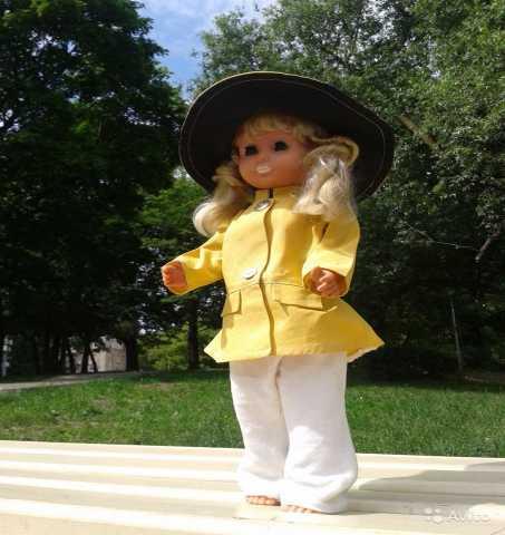 Продам: Кукла немецкая гдр 46 см в родной одежде