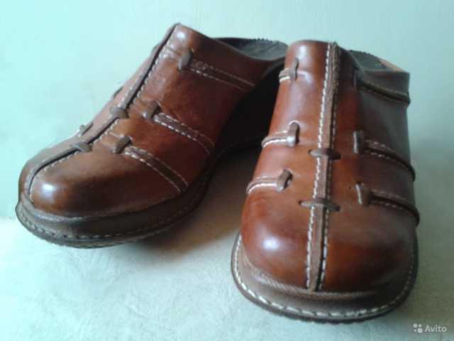 Продам: Сабо кожаные Германия размер 38-38,5