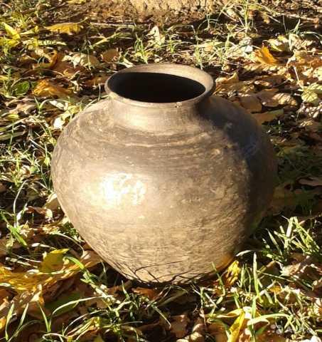 Продам: Ваза старинная глиняная 35 cm