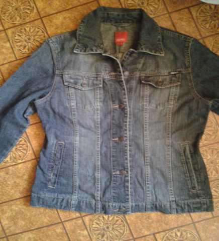 Продам Джинсовая куртка пиджак SPRIT 46-48/ориг