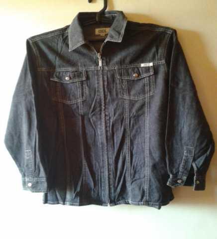 Продам Джинсовая рубашка CELECT на молнии 46-48