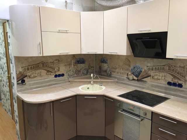 Продам: кухня глянец ваниль/шоколад