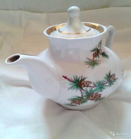 Продам Фарфоровый чайник винтаж СССР