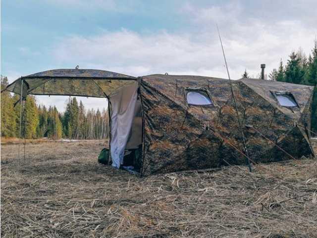 Продам Двухслойная палатка Куб 4.40 «Берег»