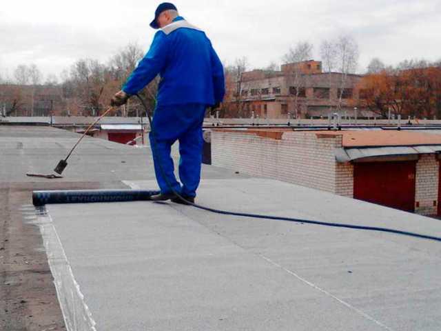 Предложение: Кровельщики по крышам гаражей