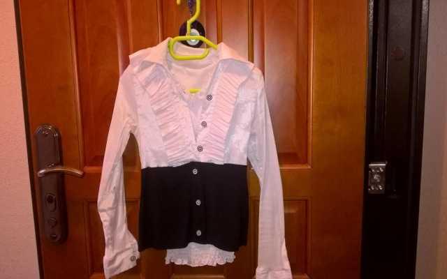 Продам: Блуза черно-белая