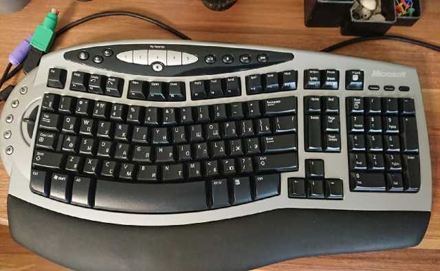 Продам: Microsoft Wireless Comfort Keyboard 1.0A