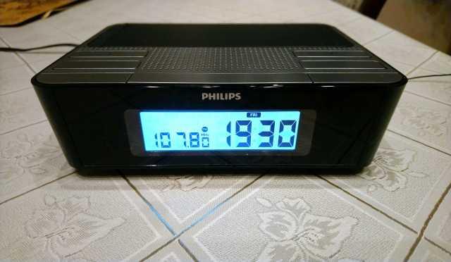 Продам Радиочасы с цифровым тюнером philips AJ4