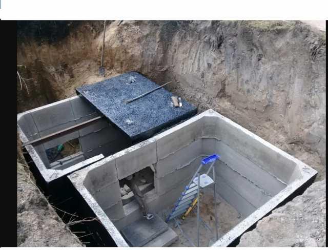 Предложение: Погреб монолитный бетонный от производит