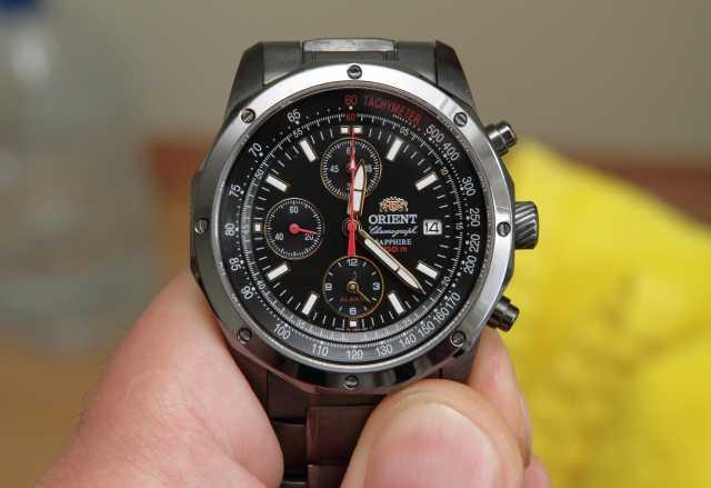 Продам часы Orient Chronograph FTD0X004B