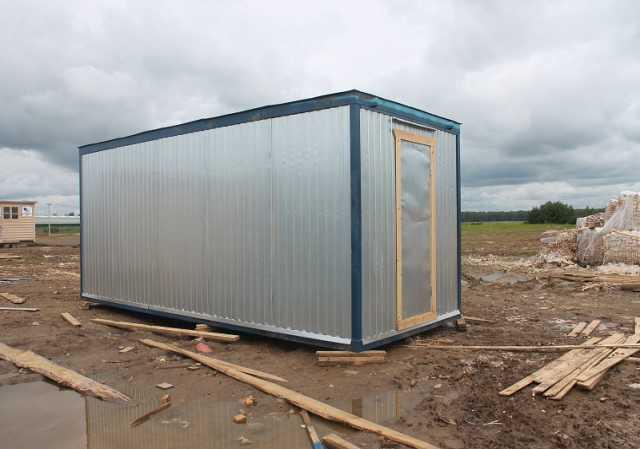 Продам: Металлический строительный вагончик (под
