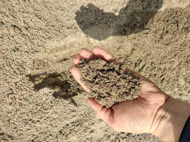 Продам Песок для дренажных работ