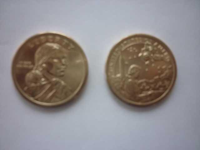 Продам Монета 1доллар Саагавея (космическая про