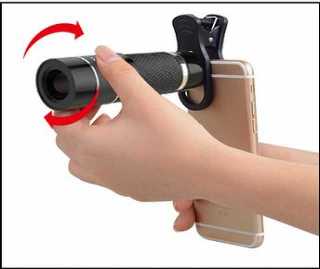 Продам Монокуляр для iPhone + смартфон