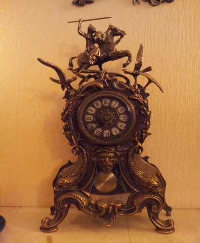 """Продам: Бронза.Часы каминные """"Каранка"""""""
