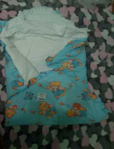 Продам: Одеяло-конверт для новорожденного