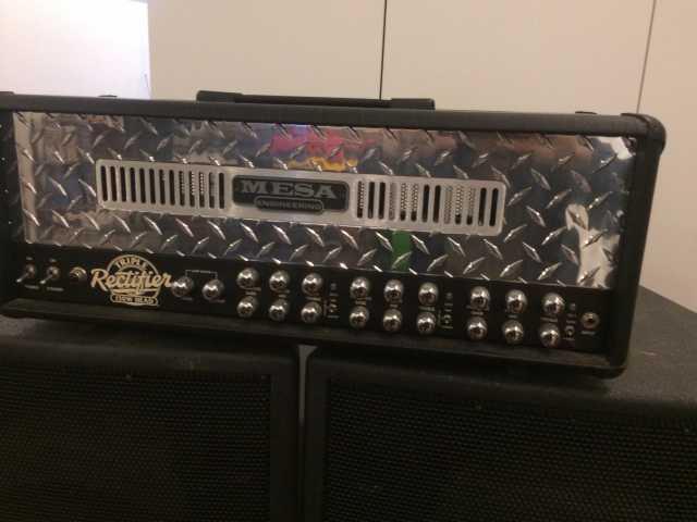 Продам Гитарный усилитель Mesa Boogie Dual Rect