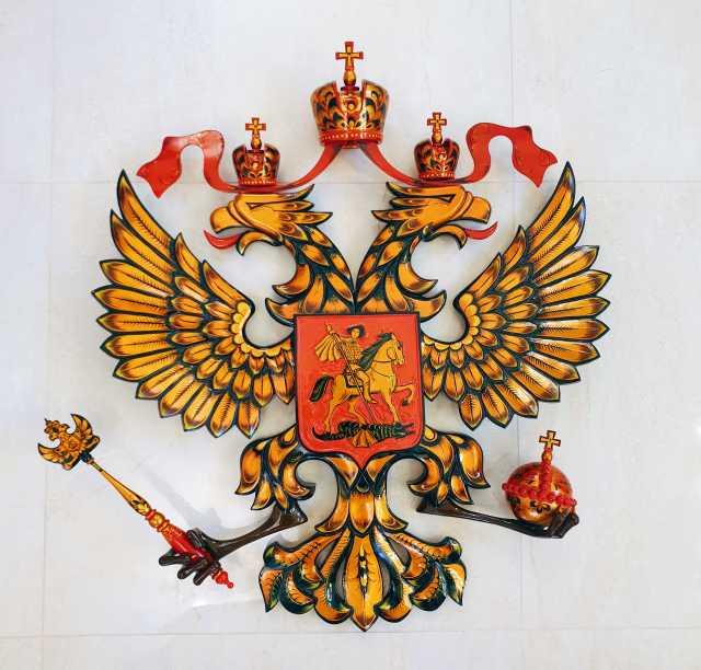 Продам Шикарный эксклюзивный герб хохлома