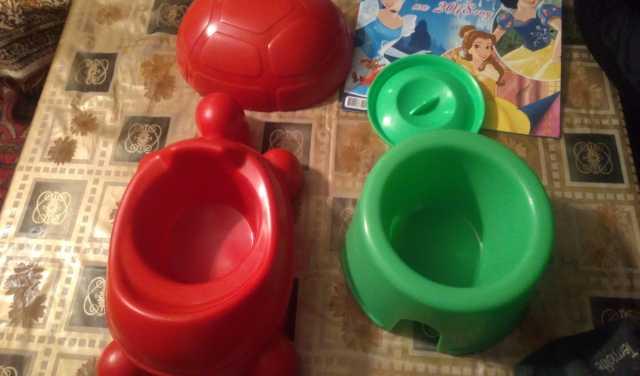 Продам Горшки детские пластмассовые черепаха