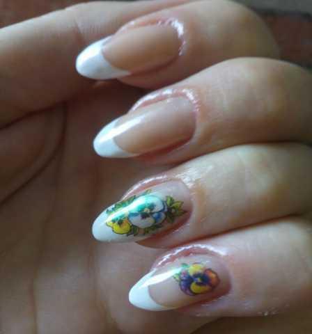Предложение: Покрытие ногтей гель лаком, наращивание