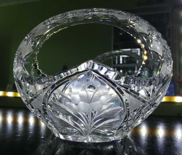 Продам: Богемский хрусталь ваза