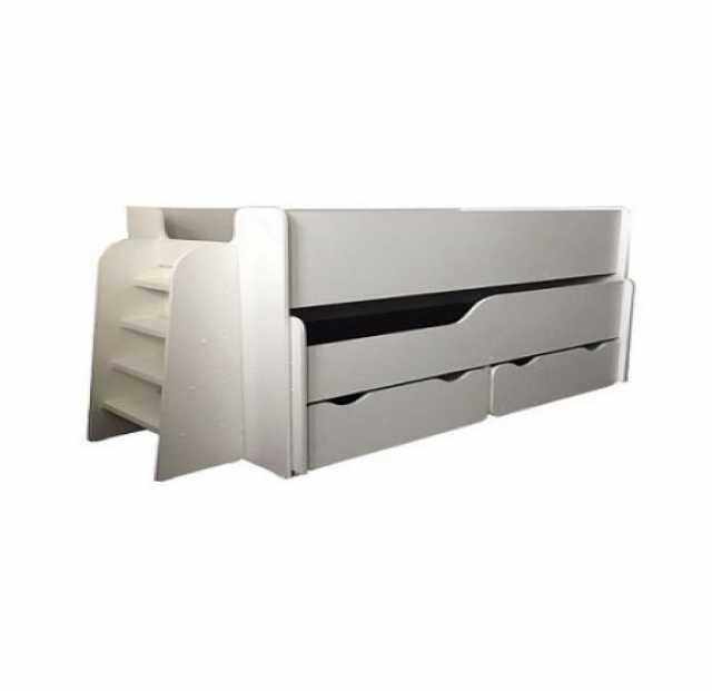 Продам: Двухъярусная кровать с ящиками