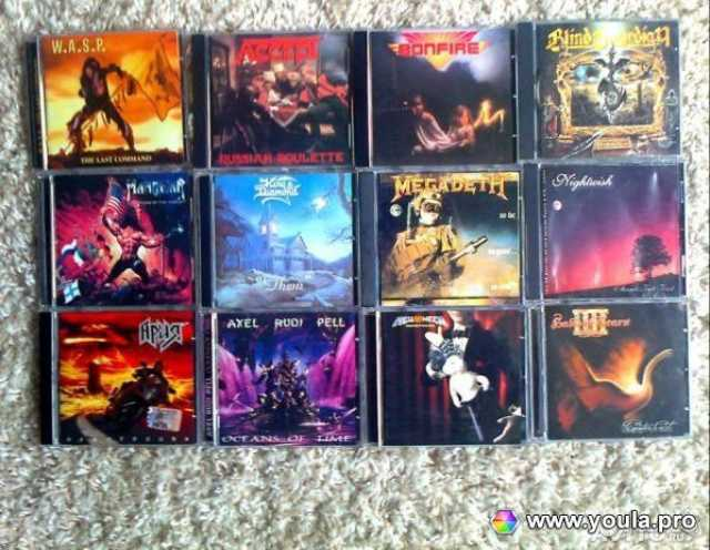 Продам Музыкальные CD (Тяжёлый рок)