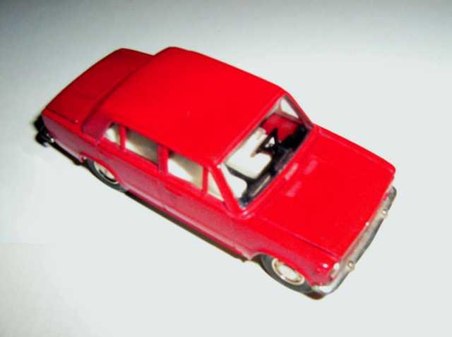 Продам номерную (№А9) машинку модель ВАЗ 2101