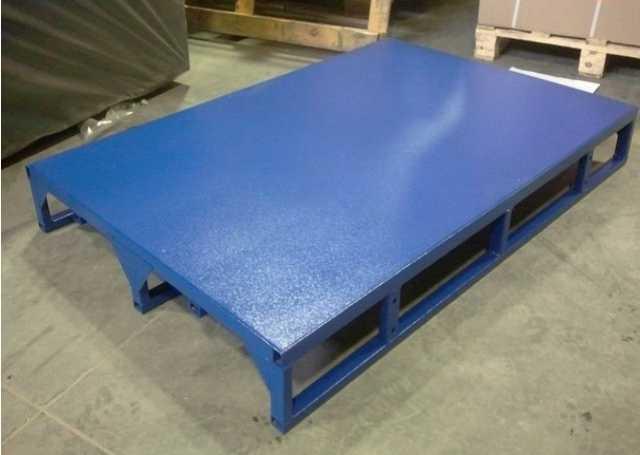 Продам: Поддон металлический каркасный облегчен