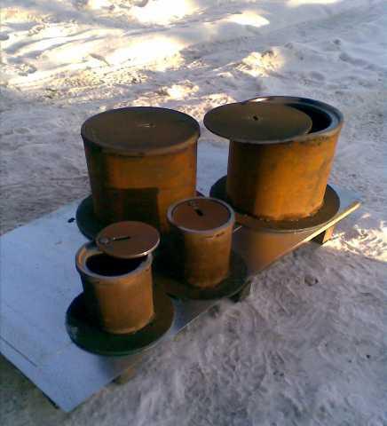 Продам: Ковер газовый стальной малый и большой