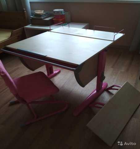 """Продам: Стол и стул """"Деми"""""""