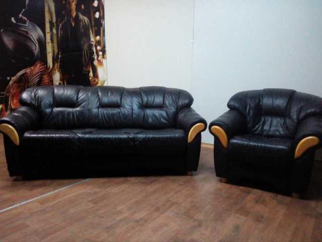 Продам: Мягкая кожаная мебель из Европы мало б/у