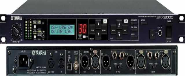 Продам Процессор эффектов YAMAHA SPX 2000